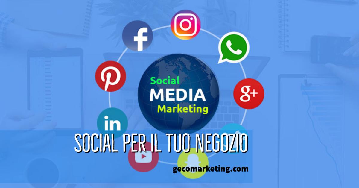 Social Media per Negozi, vendere su Facebook